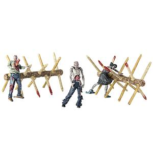The Walking Dead Walker Barrier Building Sets