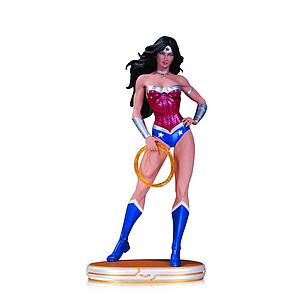 "DC Comics Cover Girls 10"" Statue Figure Wonder Woman by Jack Mathews"