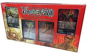 Force of Will Trading Card Game - 2-Player Starter Kit Faria, the Sacred Queen and Melgis, the Flame King
