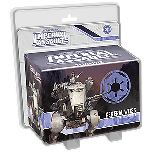Star Wars: Imperial Assault - General Weiss Villain Pack