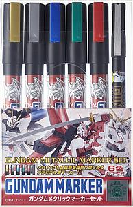 Gundam Metallic Marker Set (GMS121)