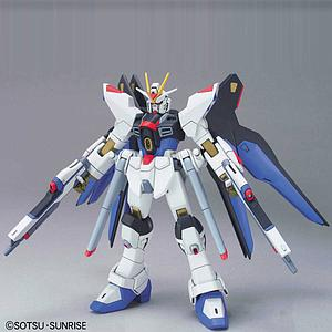 Gundam High Grade Gundam Seed 1/144 Scale Model Kit: #34 Strike Freedom Gundam