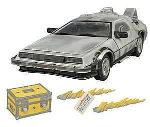 Back to the Future: Frosted Ice Delorean