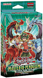 YuGiOh Trading Card Game Structure Deck: Master of Pendulum