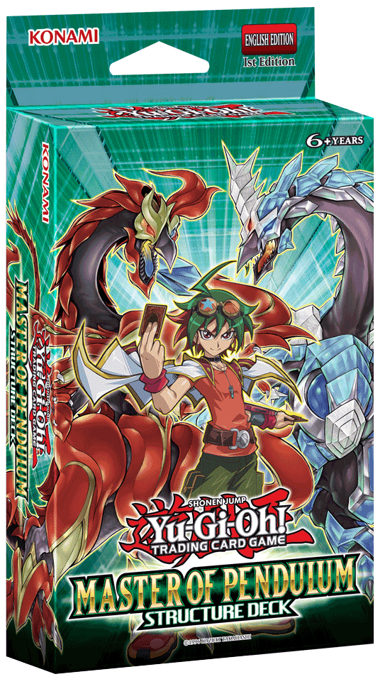 Yugioh Trading Card Game Structure Deck Master Of Pendulum Www