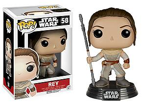 Pop! Star Wars The Force Awakens Vinyl Bobble-Head Rey #58