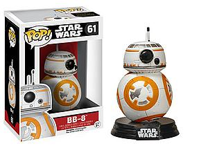 Pop! Star Wars The Force Awakens Vinyl Bobble-Head BB-8 #61