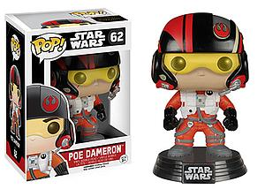 Pop! Star Wars The Force Awakens Vinyl Bobble-Head Poe Dameron #62 (Vaulted)