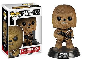 Pop! Star Wars The Force Awakens Vinyl Bobble-Head Chewbacca #63 (Vaulted)
