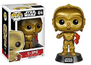 Pop! Star Wars The Force Awakens Vinyl Bobble-Head C-3PO #64