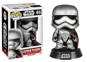 Pop! Star Wars The Force Awakens Vinyl Bobble-Head Captain Phasma #65 (Vaulted)