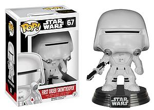 Pop! Star Wars The Force Awakens Vinyl Bobble-Head First Order Snowtrooper #67 (Vaulted)