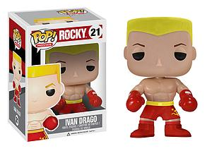 Pop! Movies Rocky Vinyl Figure Ivan Drago #21 (Vaulted)