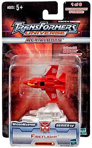 Transformers Universe - Micromaster Series 4 - Aerialbolts Fireflight
