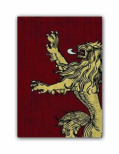 Game of Thrones - House Lannister Standard Card Sleeves (63.5mm x 88mm)