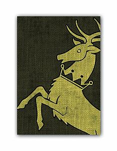 Deck Protectors Game of Thrones House Baratheon HBO Art (Standard Size)