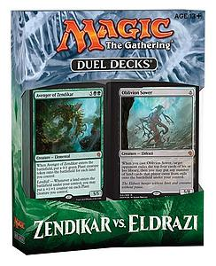 Magic the Gathering Duel Decks: Zendikar vs. Eldrazi