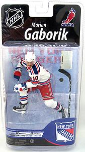 NHL Sportspicks Series 25 Marian Gaborik (New York Rangers) White Jersey Collector Level Silver