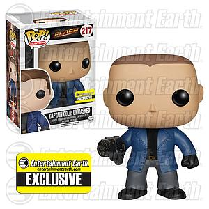 Pop! Television The Flash Vinyl Figure Captain Cold Unmasked #217 Entertainment Earth Exclusive