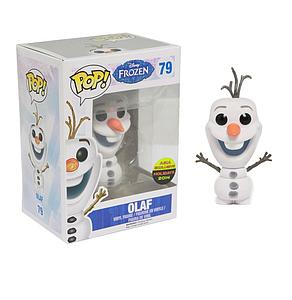 Pop! Disney Frozen Vinyl Figure Olaf (Flocked) #79 Asia Holidays 2014 Exclusive