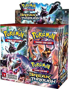Pokemon Trading Card Game: XY8 Breakthrough Booster Box (36 Packs)