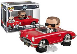 Pop! Rides Television Agents of S.H.I.E.L.D Vinyl Bobble-Head Director Coulson with Lola #12 (Retired)