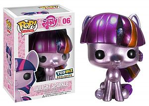 Pop! My Little Pony Vinyl Figure Twilight Sparkle (Metallic) #06 Toy Wiz Exclusive