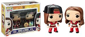 Pop! WWE Vinyl Figure 2-Pack Brie & Nikki Exclusive
