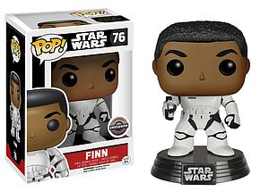 Pop! Star Wars Vinyl Bobble-Head Finn #76 EB Games / Gamestop Exclusive