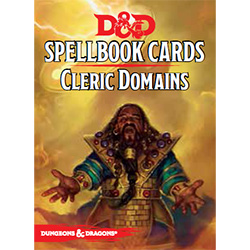 Dungeons & Dragons Spellbook Cards: Cleric Domains