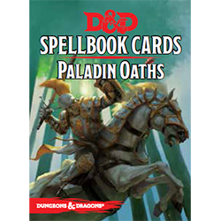 Dungeons & Dragons Spellbook Cards: Paladin Oaths