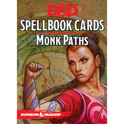 Dungeons & Dragons Spellbook Cards: Monk Paths