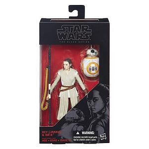 Star Wars The Black Series 6 Inch Action Figure Rey (Jakku) & BB-8