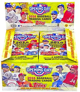 2016 MLB Opening Day Baseball Hobby Pack
