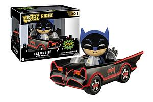 Dorbz Ridez 1966 Batmobile with Batman #001