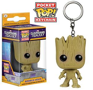 Pop! Pocket Keychain Guardians of the Galaxy Vinyl Figure Groot