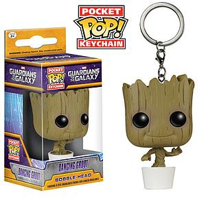 Pop! Pocket Keychain Guardians of the Galaxy Vinyl Figure Baby Groot
