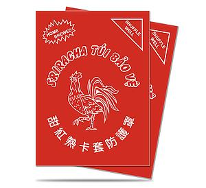 Sriracha Standard Card Sleeves (66mm x 91mm)