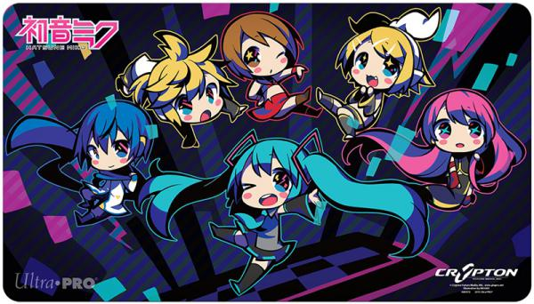 Vocaloid Play Mat Hatsune Miku Amp Friends Chibi Ver