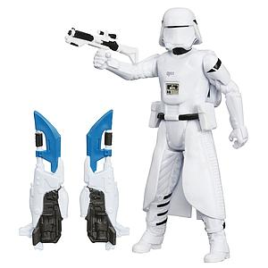 "HASBRO Star Wars The Force Awakens 4"" Action Figure First Order Snowtrooper"