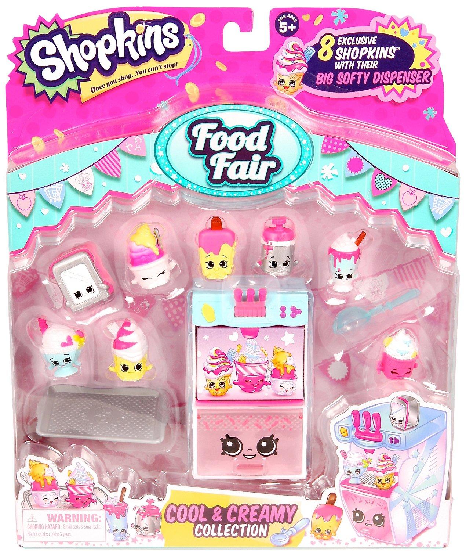 Shopkins Season 3 Figure Food Fair Cool Creamy Collection