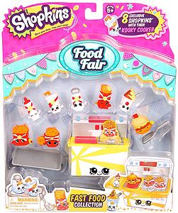 Shopkins Season 3 Figure: Food Fair Fast Food Collection