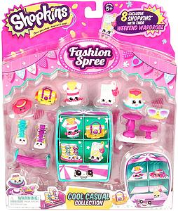 Shopkins Season 3 Figure: Fashion Spree Cool Casual Collection