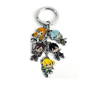 Sword Art Online Keychain Characters A