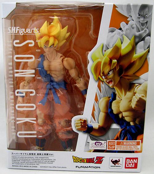 Bandai SH.Figuarts Dragon Ball Z Super Saiyan Son Goku Warrior Awakening New