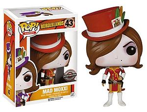 Pop! Games Borderlands Vinyl Figure Red Mad Moxxi #43 EB Games / Gamestop Exclusive