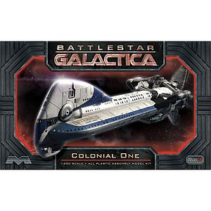 Battlestar Galactica 1/350 Scale Model Kit: Colonial One (MOB945)