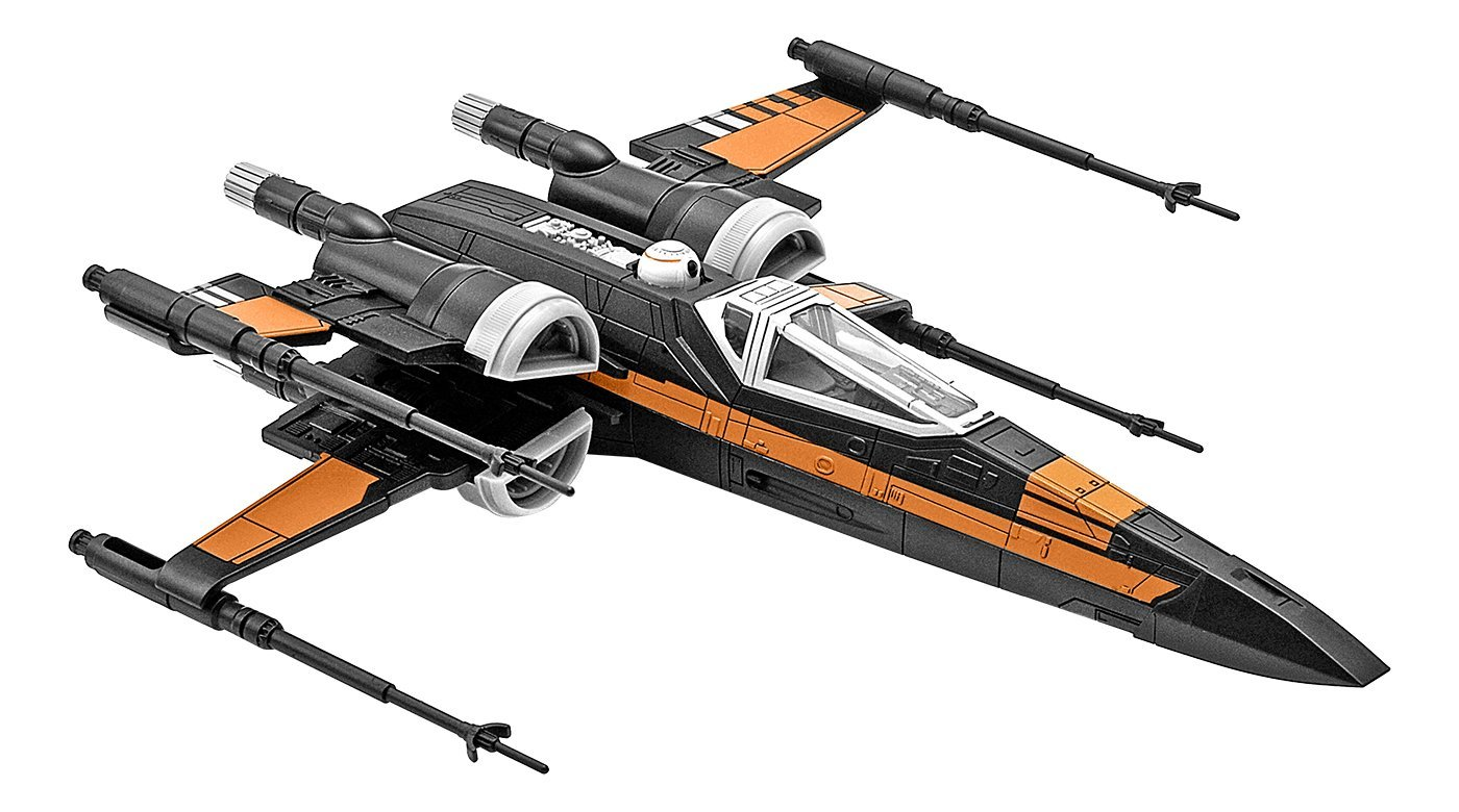 star wars model kit poe 39 s x wing fighter. Black Bedroom Furniture Sets. Home Design Ideas
