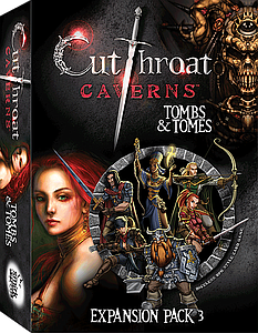 Cutthroat Caverns: Tombs & Tomes Expansion Pack 3