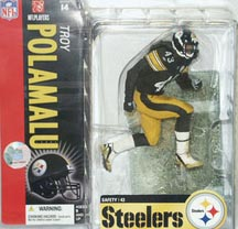 NFL Sportspicks Series 14: Troy Polamalu Snow Base Variant (Pittsburgh Steelers)